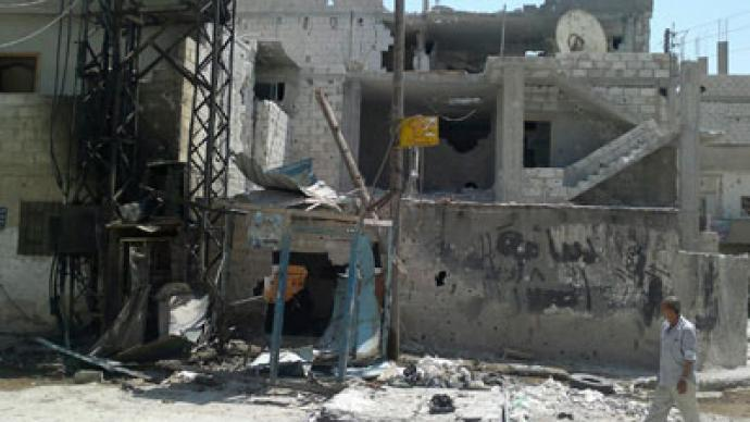 Palestinians draw arms in Syrian civil conflict