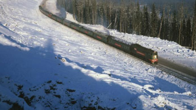 Lucky escape: Half-naked Russian runs 7 km in -40°C weather after falling off train