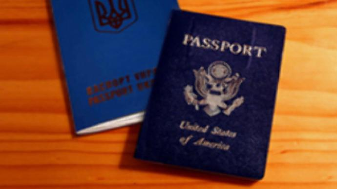 Passport row sparks political scandal in Ukraine