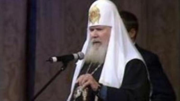 Patriarch Alexy II sends Christmas message