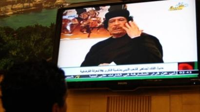 Gaddafi survives NATO attack, but son killed - spokesman