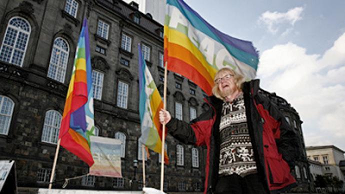 """""""War is terror"""" – Danish peace activists"""