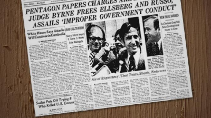 US whistleblowing scandal finale: Vietnam War papers released