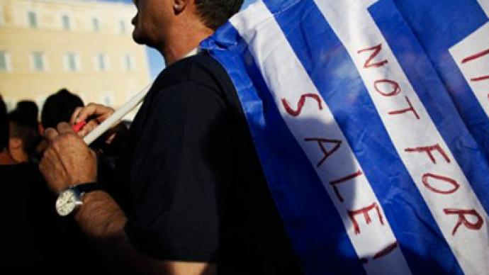 Greeks protest against rescue, call for jobs