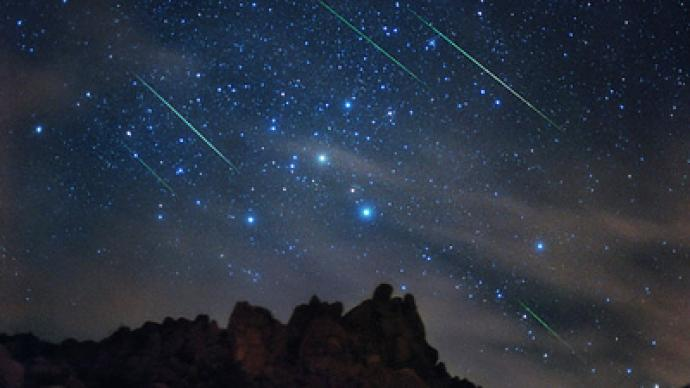 It's raining meteors! Perseids make annual appearance