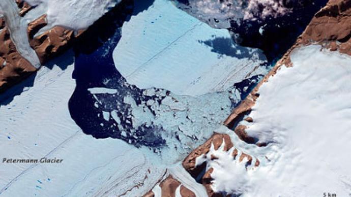 Berg blockage? Massive iceberg could thwart sea navigation (PHOTOS)