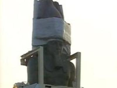 Pharaoh's statue set for new home