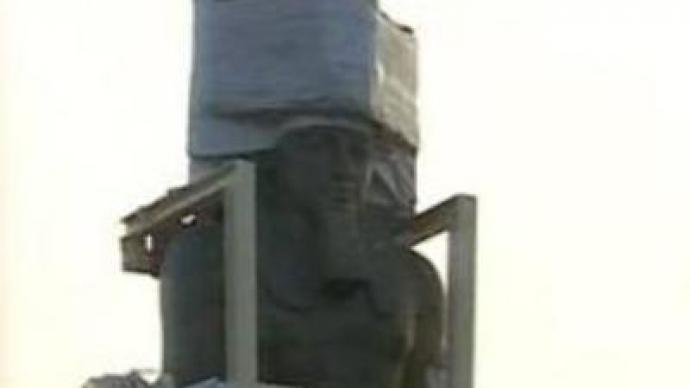 Pharaoh's statue set for new home