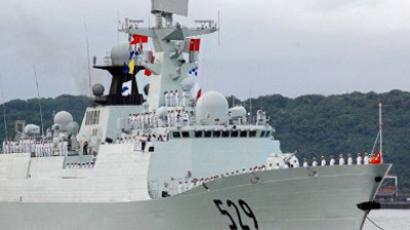 China expects respect after US naval shift