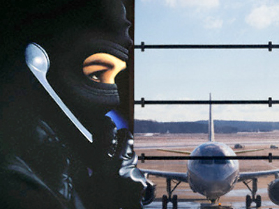 Phone terrorist just wanted sister to catch the plane
