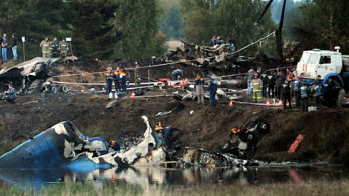 Officials rule out 'emergency brake' theory of Yak-42 crash