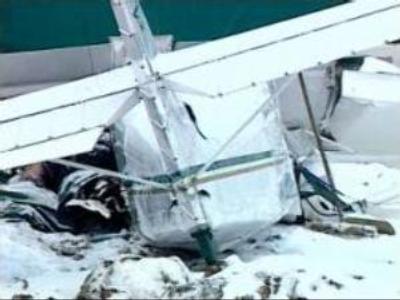 Plane crash in Russia's Tyumen region