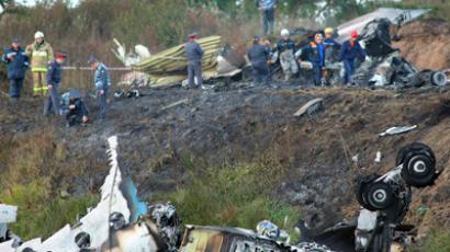 Top KHL squad killed in passenger plane crash in Russia