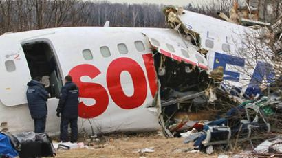 Investigation into Tupolev's crash-landing ongoing