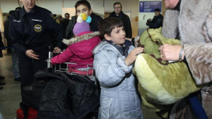 All four planes carrying Russians return from Libya