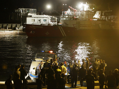 Five killed as explosion tears ship apart off Korean coast (VIDEO)