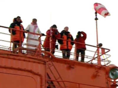 Polar explorers to rendezvous with research ship