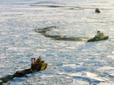Polar scientists rescued from melting ice station