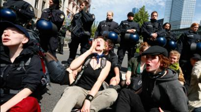 Blockupy Frankfurt: Thousands wrap up four-day protests (VIDEO)