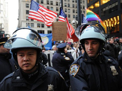 'With OWS encampments banned, where do we convene?'