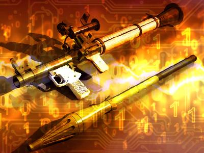 Police seize internet-linked grenade launcher