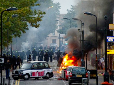 """English riots need deeper solution than police and military"""