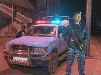 Police operation in Gaza