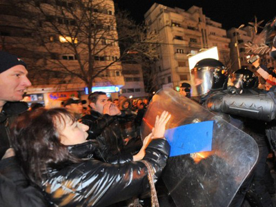 Romania rages against the regime