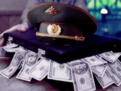 Police tops Russia's corruption chart