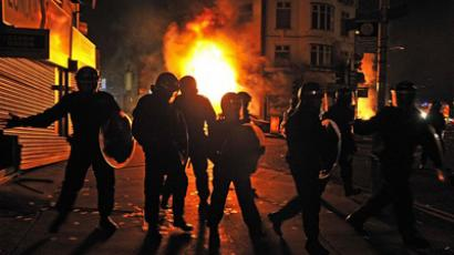 Is your neighborhood next? NY speaks about English riots