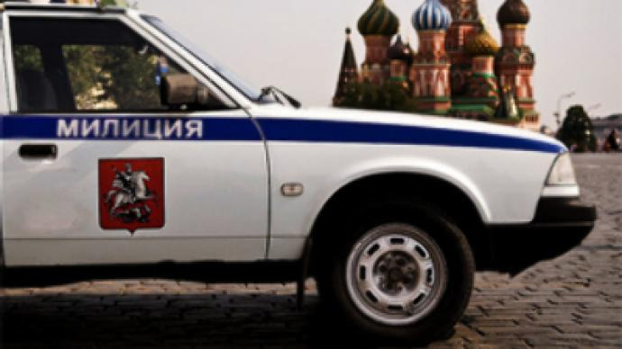 Policemen sacked for drunk driving on Red Square