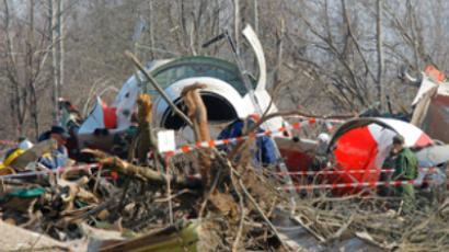 Polish plane crash investigators back in Moscow