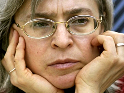 Female DNA find clouds Politkovskaya case