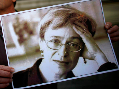 Ex-cop indicted in Politkovskaya murder case
