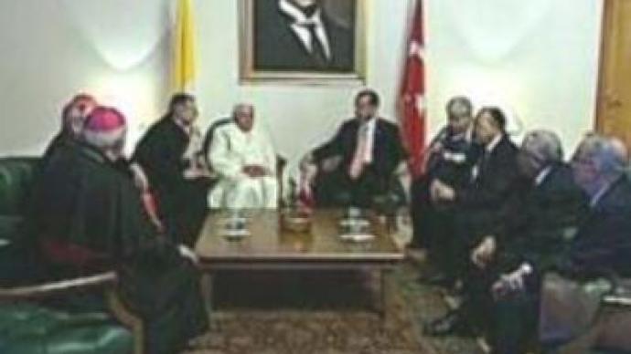 Pope calls for religious reconciliation