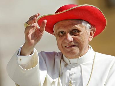 Vatileaks, Holy Tweets, Santa Hats: Pope Benedict XVI in facts & photos