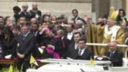 Pope's guards face a professional challenge