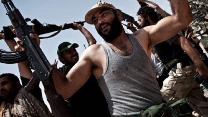 Rebels build their castle on post-Gaddafi sand
