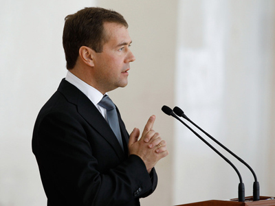 """Medvedev and Putin work as a team""- United Russia official"