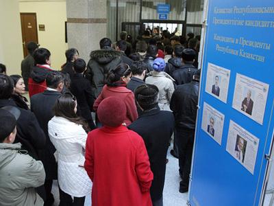 Kazakhstan's long-serving leader stays in power