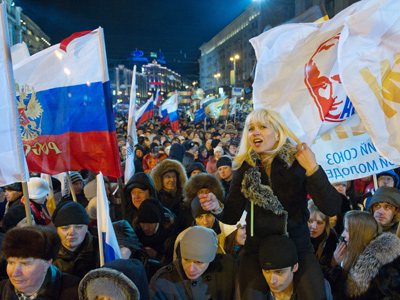 Thousands occupy Moscow in post-vote showdown (PHOTOS, VIDEO)