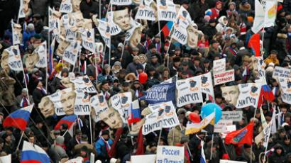 St. Petersburg sees 'fair elections' march (VIDEO)