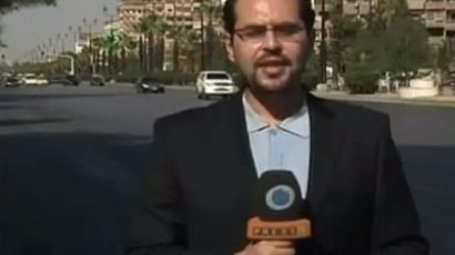 Syrian TV cameraman assassinated outside Damascus by 'armed groups'