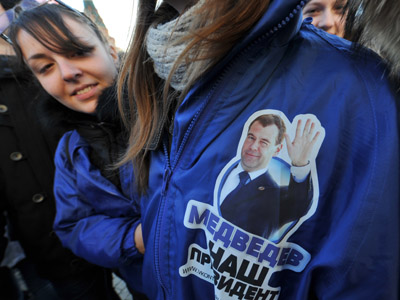 Pro-Putin youth to protect election against 'provocations'
