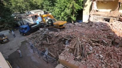 Art of destruction: Controlled demolition captured on cam (VIDEOS)