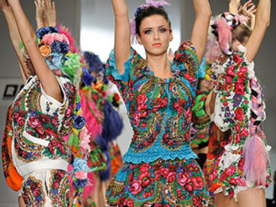 Russian fashion week comes to end