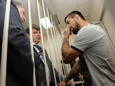 Lesser charge for MMA champ who killed Moscow student