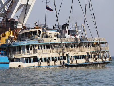 Reunited: Russians' miraculous luxury shipwreck escape