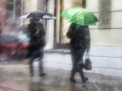 Heavy showers flood capital of southern Russian republic