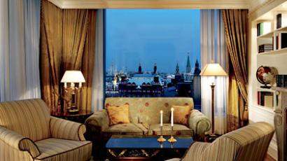 Moscow has the priciest hotels in Europe